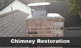 Chimney Building Button - Fireplace Repairs